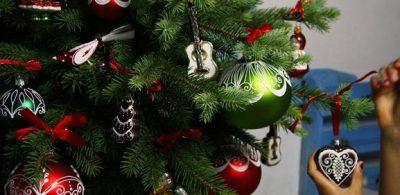 kolekcemi vánočních ozdob