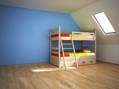 Dětská patrová postel, zdroj: shutterstock.com